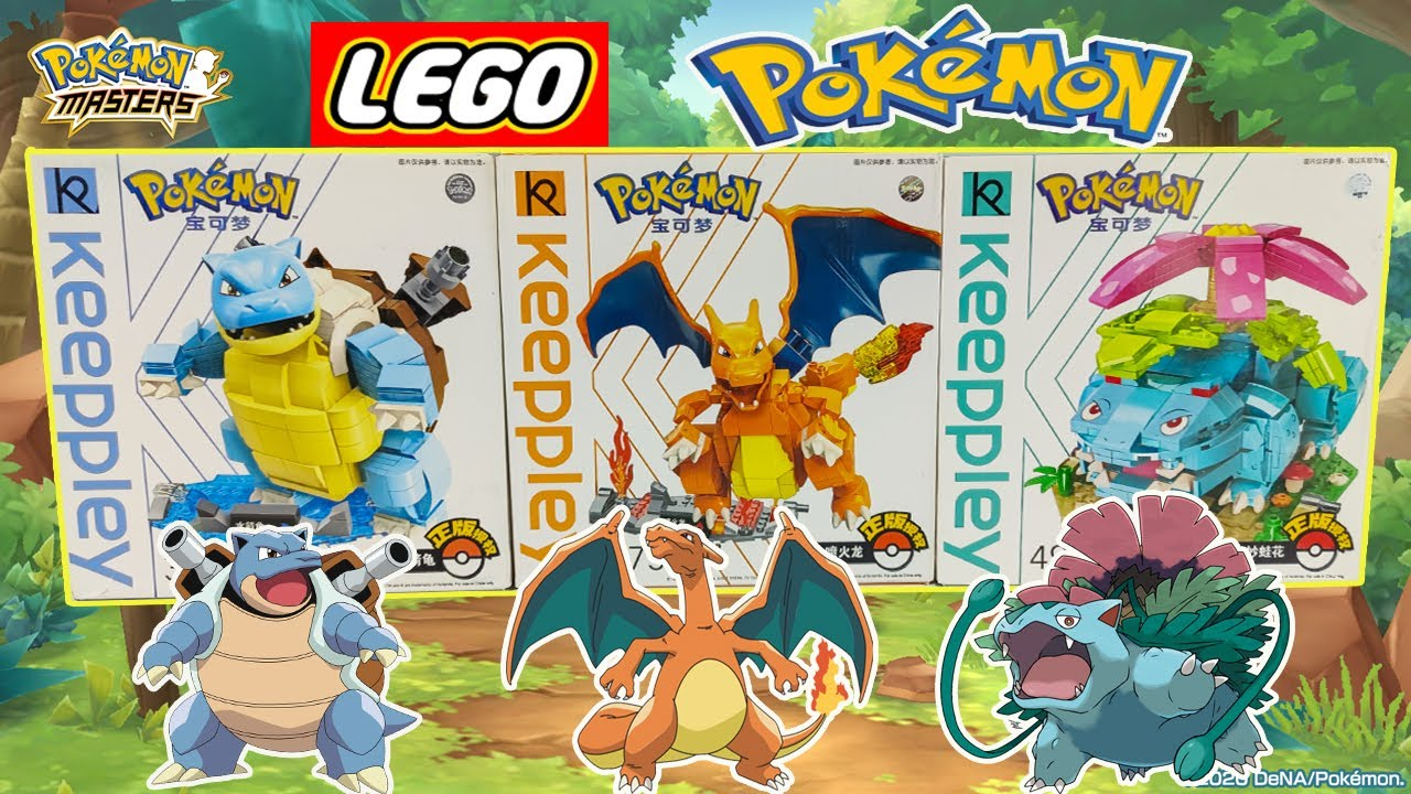 Lắp Ráp Đồ Chơi Lego Pokemon Giá Rẻ | Toy Channel Pokemon