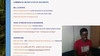 Status Matrix & Secured Party Recordings Part 1 of 2