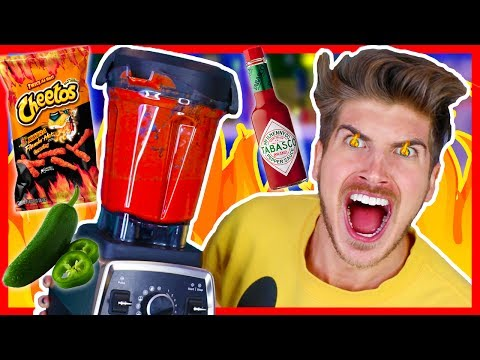 SPICIEST DRINK IN THE WORLD CHALLENGE!