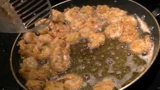 Best Fried Shrimp Recipe . No Breadcrumbs.. Easy And Delicious  Texas Style