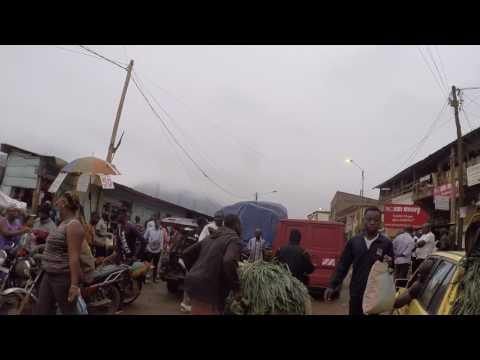 Cameroun Yaoundé Route vers Mokolo, Gopro / Cameroon Yaounde Road to Mokolo, Gopro