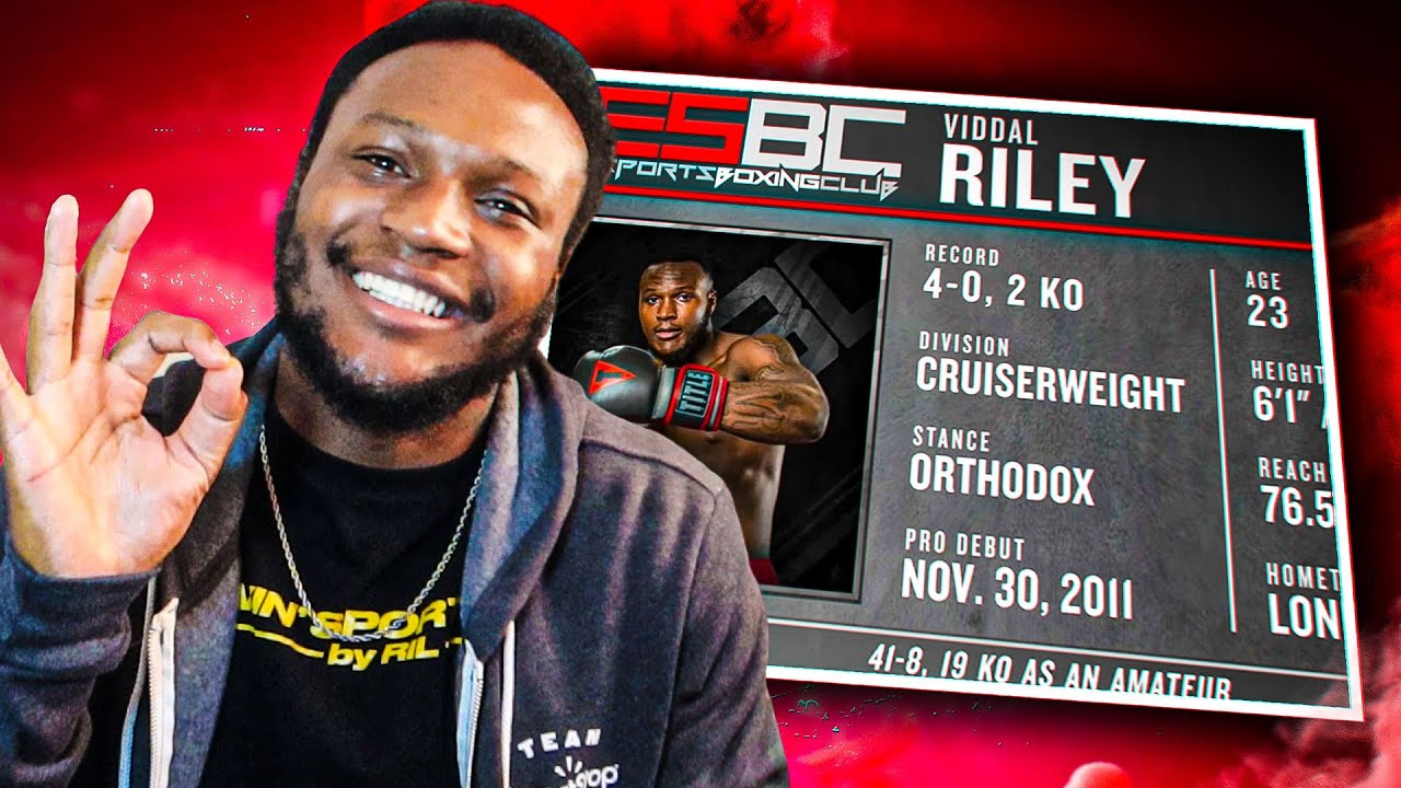 VIDDAL RILEY IS IN THE NEW ESBC BOXING GAME!!!