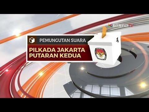 Pemungutan Suara Putaran Kedua Pilkada DKI Jakarta