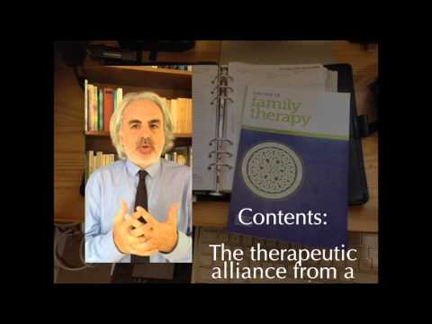 Studying the therapeutic alliance from a systemic perspective