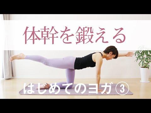 体幹を鍛えるヨガ☆ 疲れにくいカラダをつくる #213