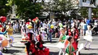Парад карапузов в День города Херсона