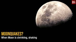 You've heard of earthquakes, but what about moonquakes?