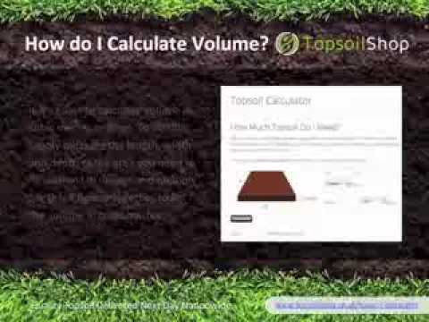 Topsoil Calculator - Work Out How Much Topsoil You Need