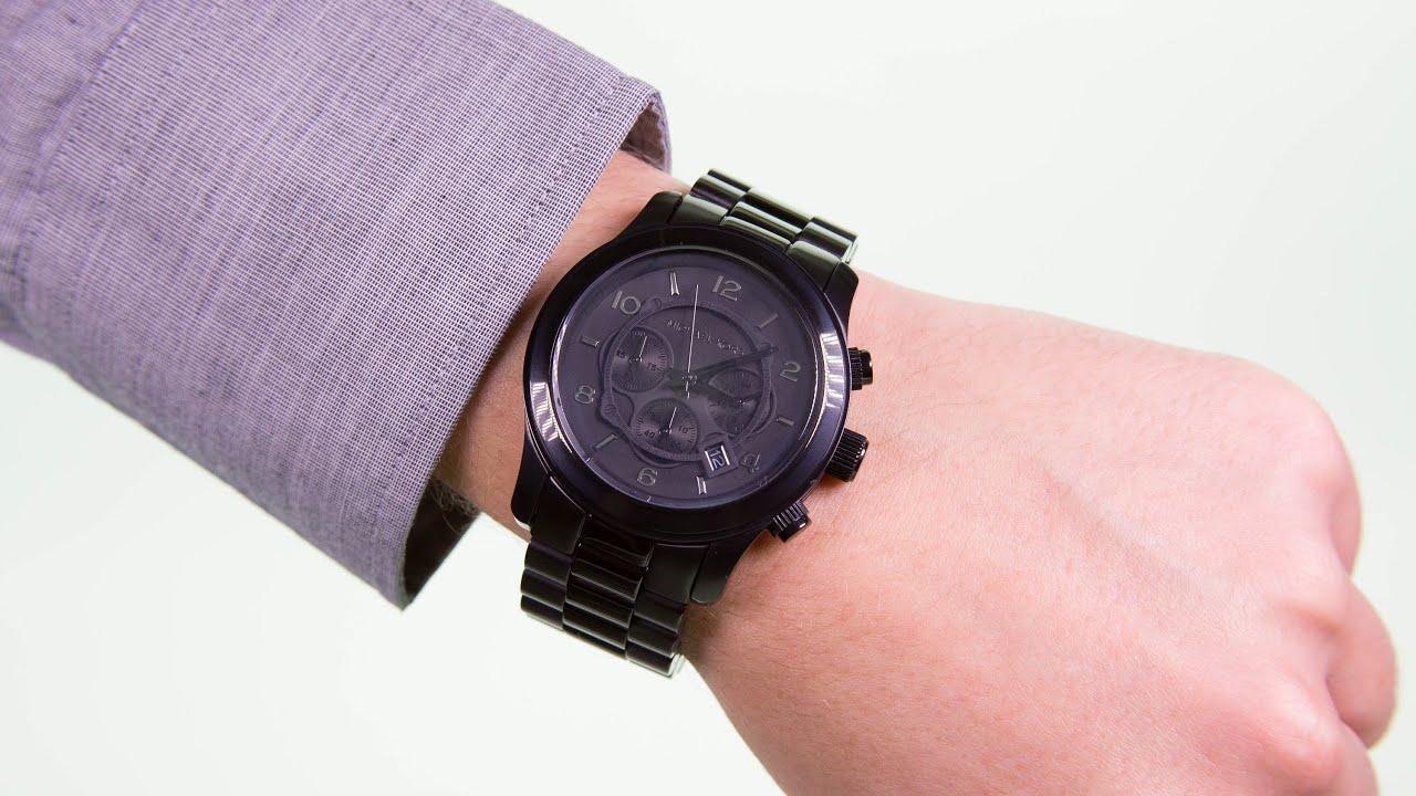 d3369690723d Michael Kors Gents Watch MK8157 - YouTube