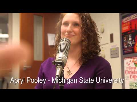 Author Apryl Pooley on the Lansing Online News Radio Show