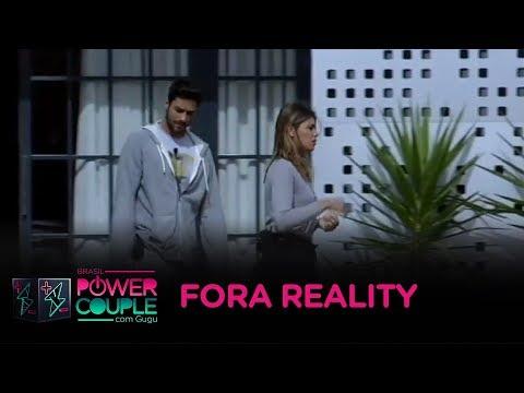 Diego e Fran são afastados do Power Couple após ameaças contra Anderson