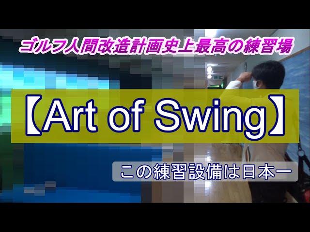 最高のインドア練習場【Art of Swing】に行ってきました‼