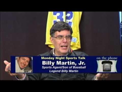 Billy Martin Jr. - Sports Agent/son of baseball legend