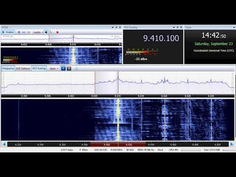 23 09 2017 Trans World Radio India in English to SoAs 1441 on 9410 Yerevan