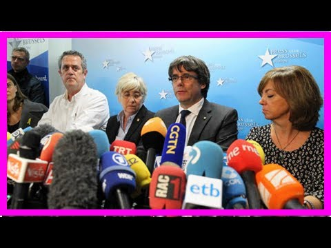 US Newspapers - Catalonia crisis: puigdemont orders spain to free catalan leaders – 'it's a big mis