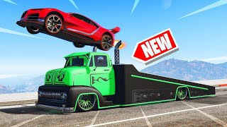 *NEW* INSANE RAMP TRUCK In GTA 5! (DLC)