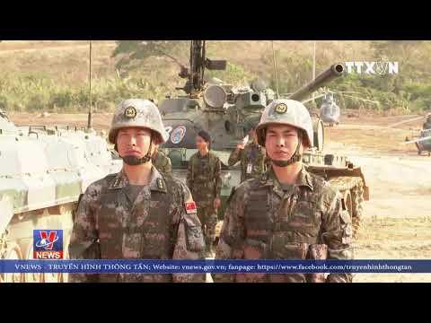"""Campuchia-Trung Quốc Bắt đầu Tập Trận """"Rồng Vàng 2019"""""""