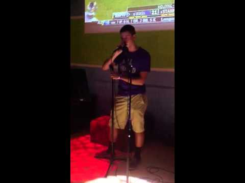 Karaoke with Corey