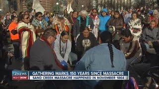 Gathering marks 150 years since Sand Creek Massacre