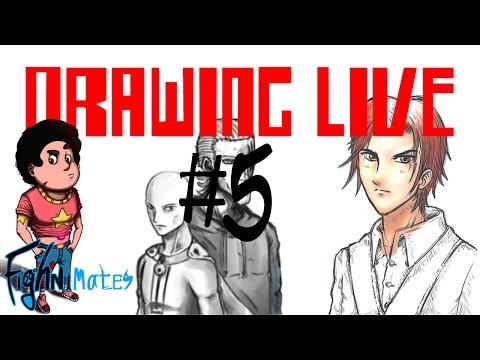 Drawing Live #5: with ''jornomore''