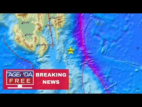 7.0 Earthquake off Coast of Philippines - LIVE BREAKING NEWS COVERAGE