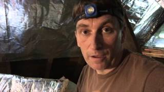 DIY Attic insulation removal and airseal with homemade vacuum