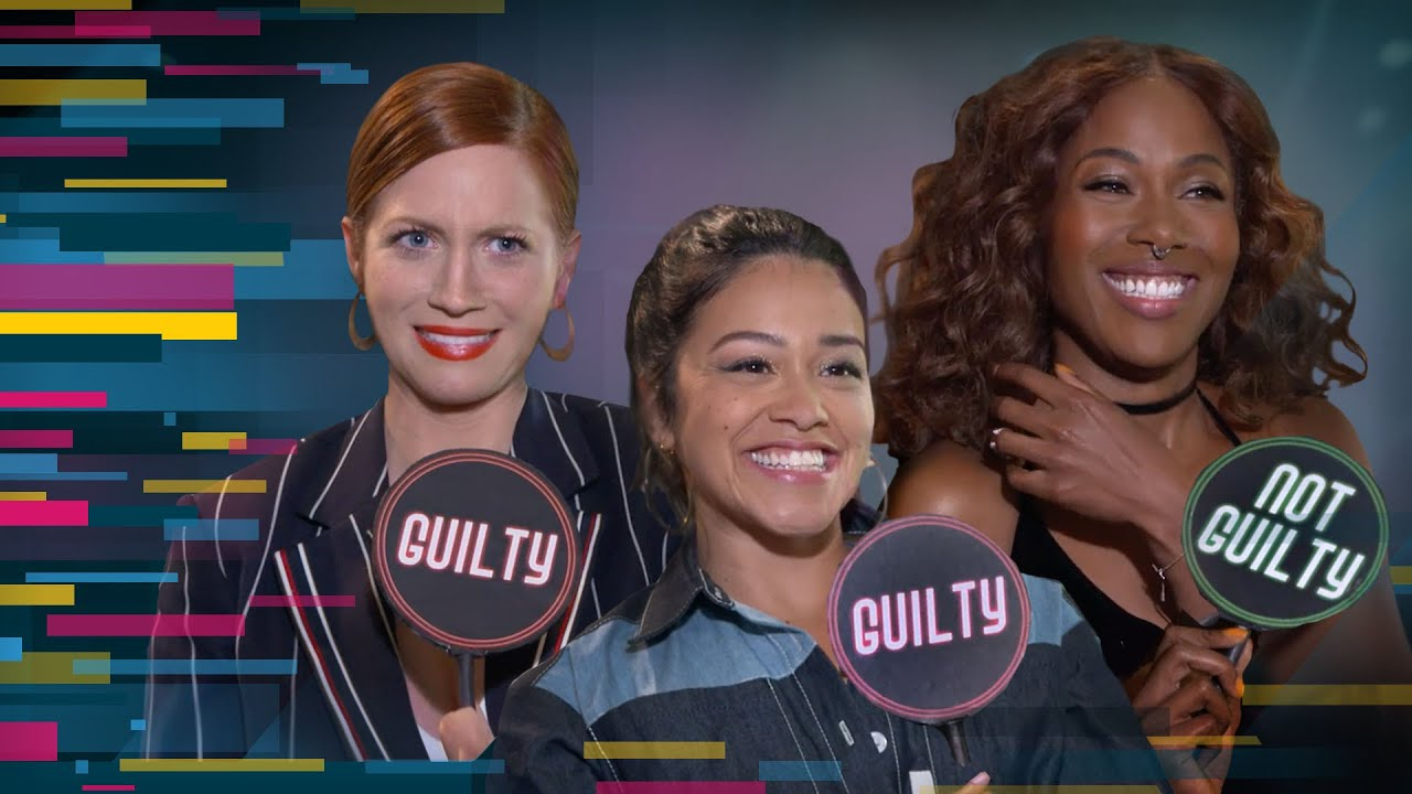 "Download 'Someone Great' Stars Gina Rodriguez, Brittany Snow and DeWanda Wise Play ""Guilty or Not Guilty"""