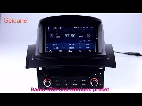 2002-2008 Renault Meganne 2 Radio DVD GPS Navigation Player Support 3G 4G WIFI