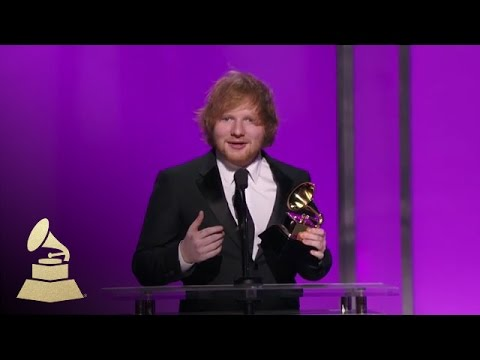 Ed Sheeran | Best Pop Solo Performace | 58th GRAMMYs