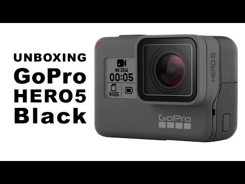 Unboxing a GoPro Hero5 Black (What's in the Box?)