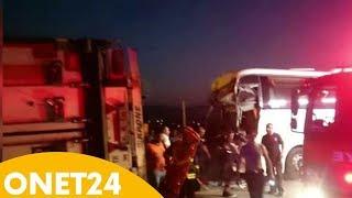 Wypadek autokaru z polskimi turystami   Onet24