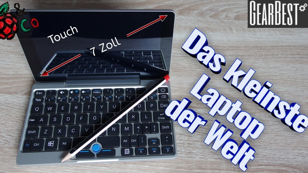 Kleines Laptop Gpd Pocket Mini Laptop 7