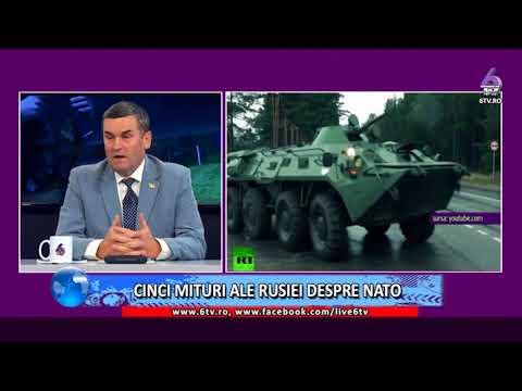 VALORI EUROATLANTICE -CINCI MITURI ALE RUSIEI DESPRE NATO  2017 12 10
