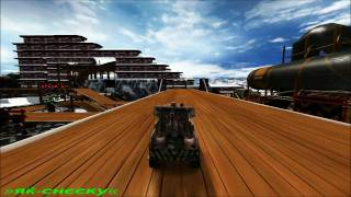 TrackMania United Forever: TMUnlimiter BlockMixing: Snow MixMap Cruise
