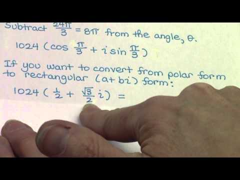 Proof of DeMoivre's Theorem - LMHS - Hernandez