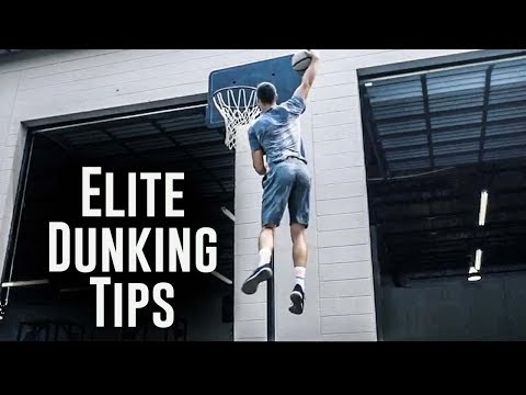 Elite Dunking Tips from Professional Athlete