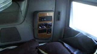Inside my Truck a International Prostar 2009