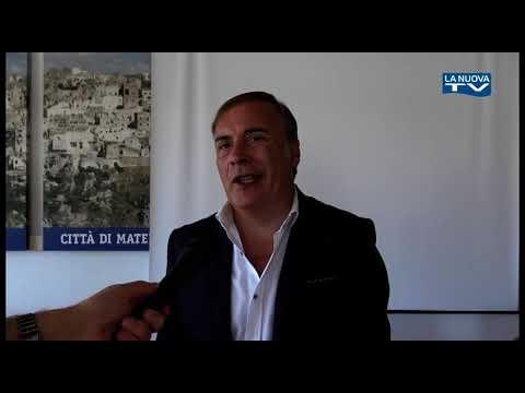 Servizio La Nuova Tg ''Conferenza stampa Cmb Mater...