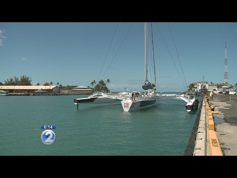 Trimaran Lending Club 2 claims Los Angeles to Honolulu sailing record