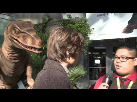 Jurassic World Star Nick Robinson NYCC 2015 Interview