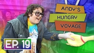 Chicken Delivery to Strangers in Tokyo! | Andy's Hungry Voyage