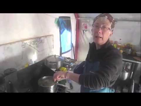 Cooking at the Ice Base - Frozen Oceans - Arctic