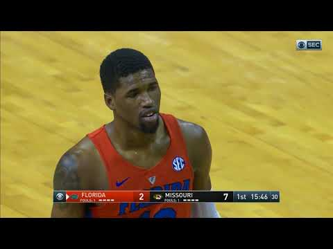 NCAA Basketball - Florida vs Missouri (1-6-18)