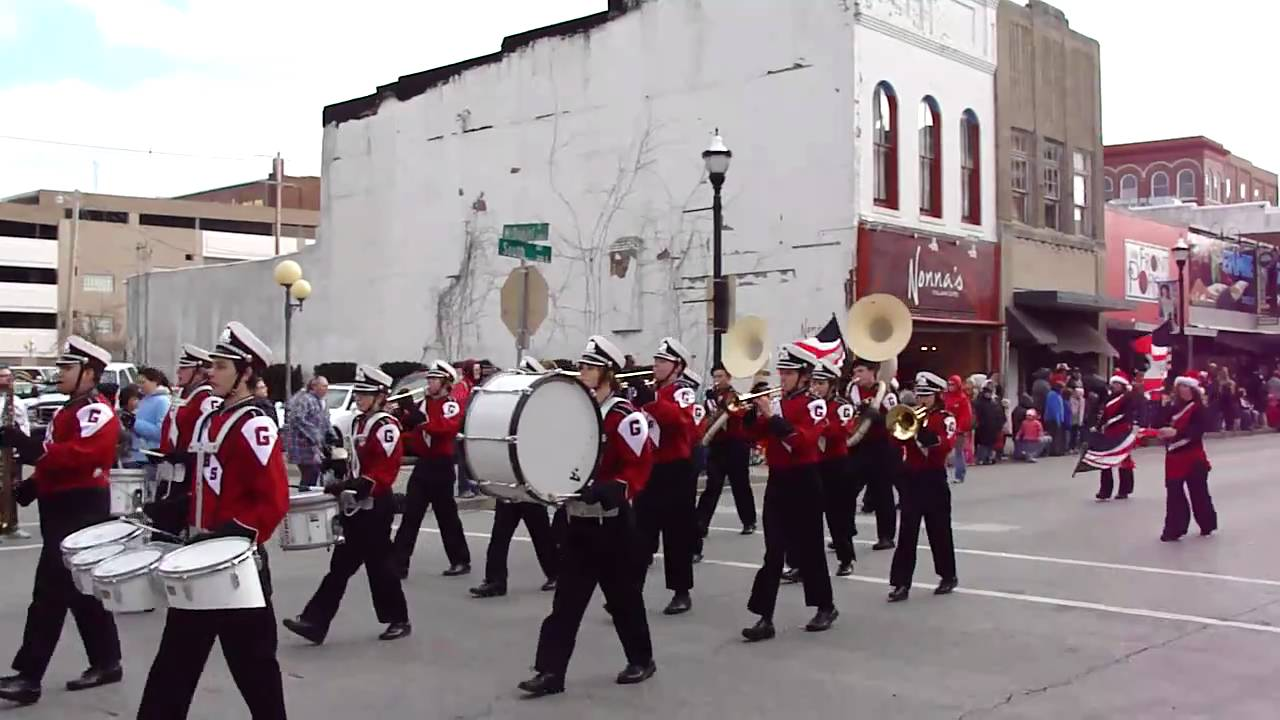 2010 Downtown Springfield Christmas Parade- Gainesville High ...