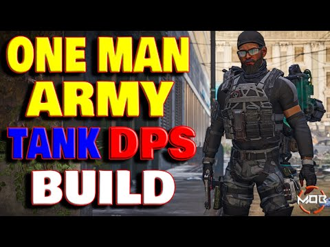 The Division 2 | *ONE MAN ARMY* SOLO BUILD | MAX CRIT CHANCE TANK BUILD MELTS ARMOR | YOU NEED THIS!