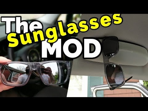 acc8e8ffa3d Jeep Renegade Sunglasses Mod    Glasses Holder Install and Review ...