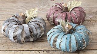DIY : Decorative pumpkins by Søstrene Grene