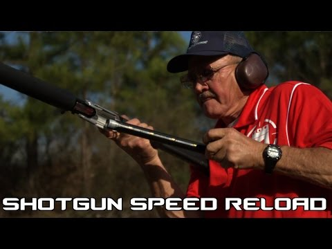 Thumbnail: Shotgun Speed Reloading! 3.5 seconds for 8 shots with reload in SlowMo (60P)