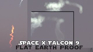 Flat Earth Proof? Space X Falcon 9 Live Launch - 3/4/16 - Orlando view