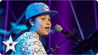 Gabz the lyrical genius singing 'Just Lie There' | Final 2013 | Britain's Got Talent 2013